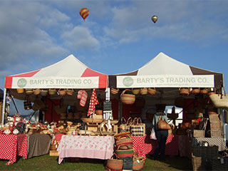 Find Bartys Trading at many Country Fairs and Markets throughout the year