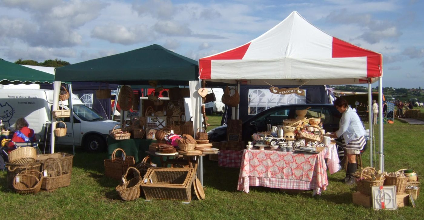 Barty's Trading stall