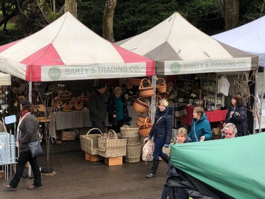 Barty's Trading at Mells Daffodil Festival on Easter Monday 2018