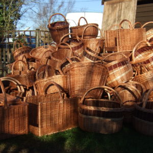 Shoppers baskets
