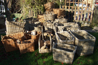 Log baskets by Barty's Trading